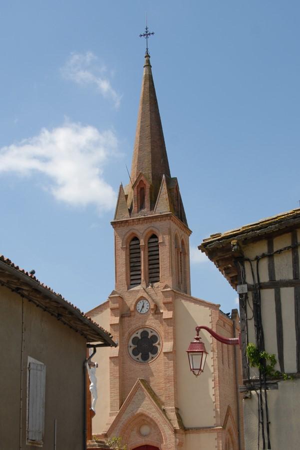 Escazeaux église